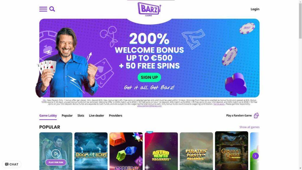 Barz Casino Arvostelu – käytä hyväksesi upeita tarjouksia
